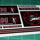 Vanadu Decal Set