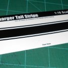 1972-73 Dodge Charger Tail Stripe 1:16 Scale Black