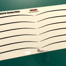 1970 Baracuda Hockey Sticks Decal Set 1:18 Scale Black