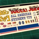 1957 T-Bird Gasser Decal Set 1:25