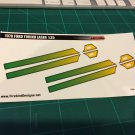 1970 Ford Torino Laser Stripe - Green 1:25 scale