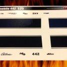 1969 Oldsmobile Cutlass 442 - Black 1:25
