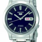 Seiko Men's Seiko 5 Automatic Blue Dial Stainless-Steel Bracelet Watch