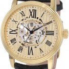 Stuhrling Original Men's 1077.333531 Classic Delphi Venezia Automatic Skeleton Black Watch