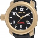 Invicta Men's 1545 Sea Hunter Black Dial Rubber Watch