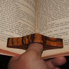 Book holder - Zebrano wood