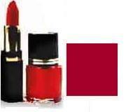 Lipstick/ Nail Polish Combo - Cranberry