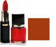 Lipstick/ Nail Polish Combo - Orange Sunset
