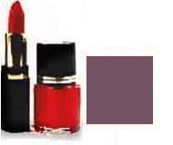 Lipstick/ Nail Polish Combo - Violet Shimmer