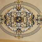 "Water Jet Cut Marble Floor/Wall Medallion 48""x72"" Granite Back"