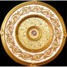 Gold Specks On Gold insert Decor Ceiling Medallion 31.5""