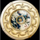 "Blue Cherubs Ceiling Medallion Round Circle 43"" New Home Decor"