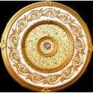 Gold Specks On Gold insert Decor Ceiling Medallion 51""