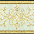 "Home Decor Waterjet Cut Marble Floor/Wall Medallion 66""x42"" Granite Back"