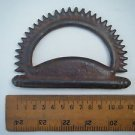 Old Vintage Metal Tool Casted Small Iron Head Original Old Antique India #1058