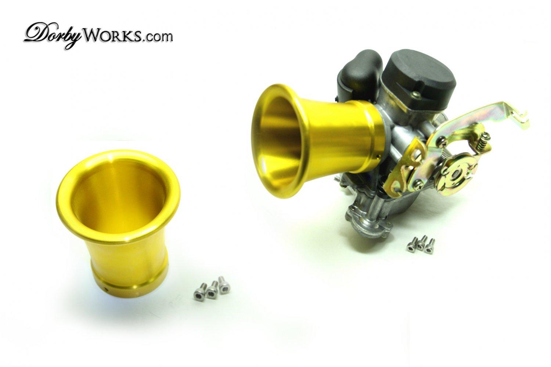 Carburetor Velocity Stack 3 Quot Gold