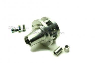 Dorbyworks Honda Ruckus Billet front hub, spacers, Titanium rotor bolts
