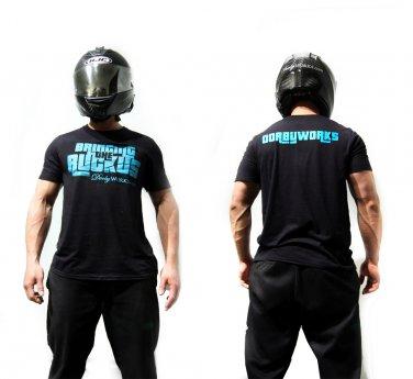 Dorbyworks HONDA RUCKUS SHIRT Performance TEAL / black shirt - small