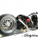 HONDA RUCKUS 13x4 / 13x8 custom MESH LOVE wheel set