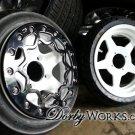 "RokSTAR 12"" Complete wheel, hubs, tires HONDA RUCKUS"