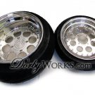 "Honda Ruckus DW8RS  12"" FRONT / 13"" REAR custom billet forged wheels"