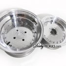 Honda Ruckus wheels rims DIAMOND 2 Piece billet forged