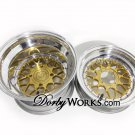 GOLD MESH LOVE custom forged billet wheels rims Honda ruckus
