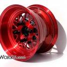 Honda Ruckus DW MESH V2 Wheels Rim set 12x4 / 12x7 GET rear HUB / Lug nuts