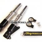HONDA RUCKUS DORBYWORKS High Performance Drag Forks SILVER