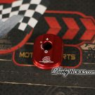Honda ruckus key cover billet aluminum red