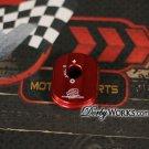 Honda ruckus key cover billet aluminum red