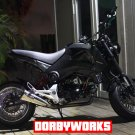 Honda GROM Mesh Love custom 2 piece wheels / Hubs / Tires