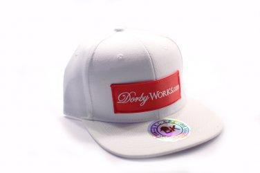 DORBWORKS Snap back hat - Classic white