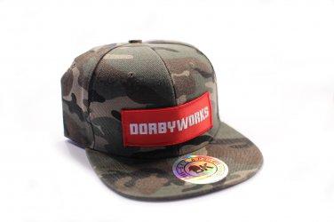 DORBWORKS Snap back hat - CAMO