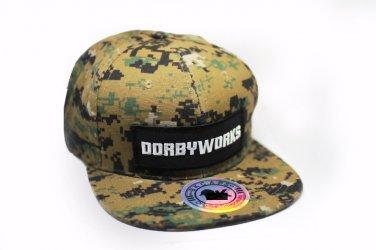 DORBWORKS Snap back hat  Digital Camo Snap back!