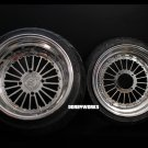 "Honda Ruckus FORMULA 12 "" front / 13 "" rear Custom billet forged wheels"