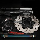 Ruckus Brake kit  - Black Adelin caliper