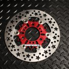 Dorbyworks Star 220mm Floating Rotor RED