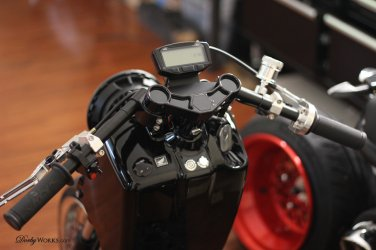 Honda Ruckus BILLET Digital Speedometer GAUGE Complete instrument control PACKAGE BLACK EDITION