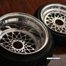 Honda Ruckus Wheels Rims MESH R Set + TIRES  mounted 12x4 / 13x8 GY6