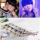 ♥ BEAST - Yong Jun-Hyung - Spike Punk Bracelet - Kpop