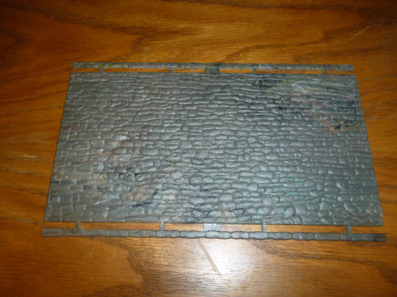 4121 Stone Textured Plastic Sheet