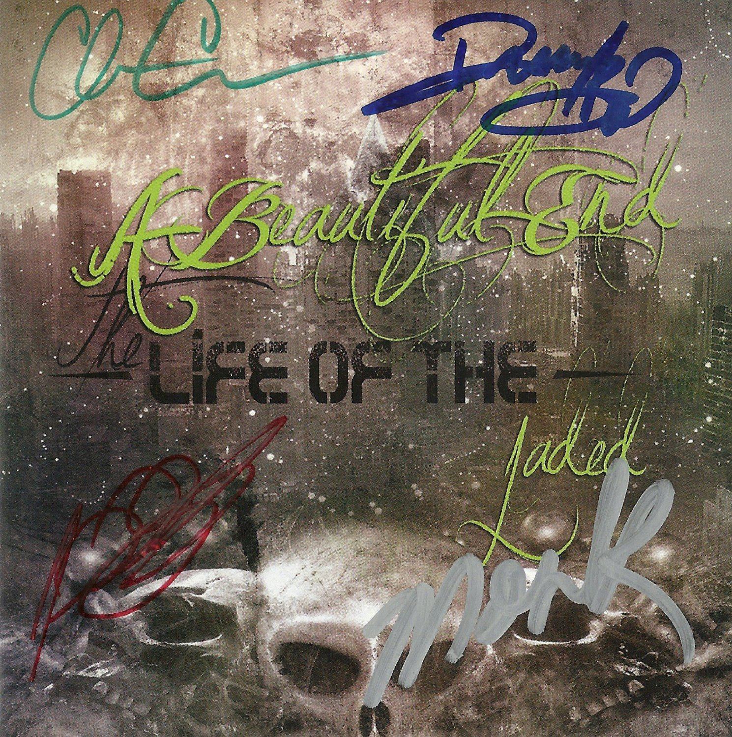 The Life Of The Jaded by A Beautiful End (Autographed CD)