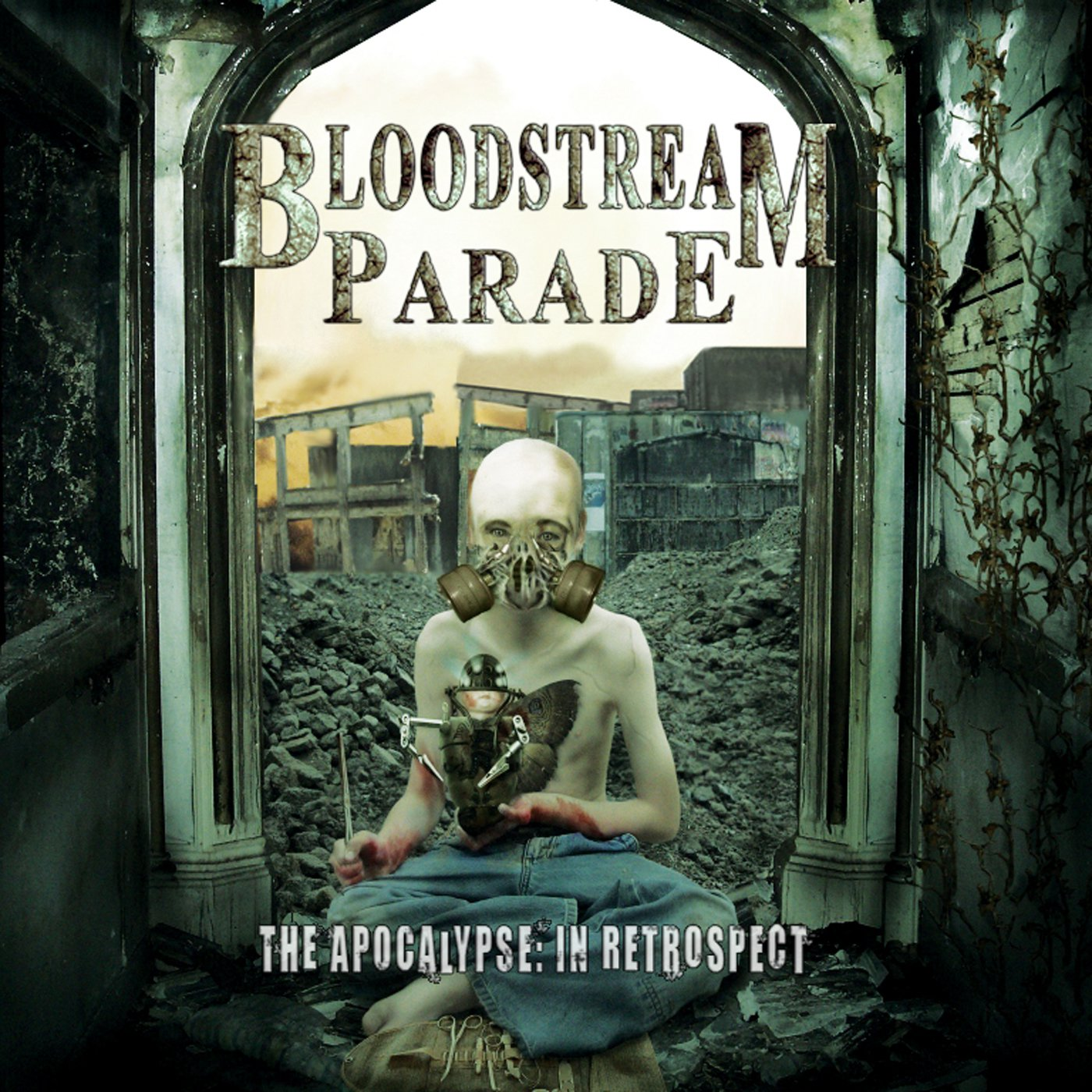 The Apocalypse In Retrospect by Bloodstream Parade USB Wristband