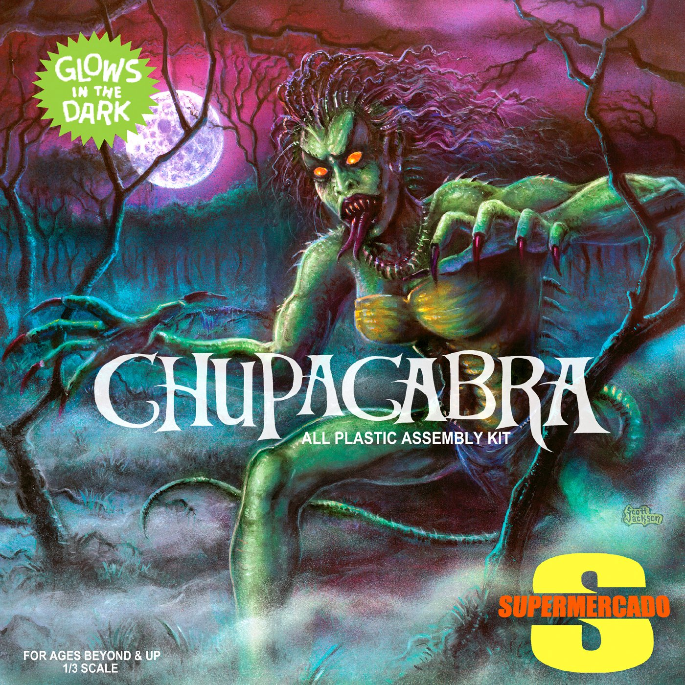 Chupacabra by Supermercado USB Wristband