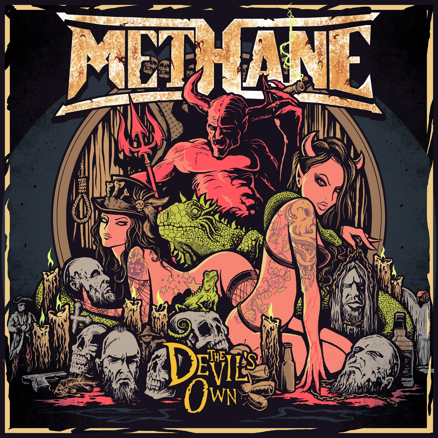 The Devil's Own CD by Methane