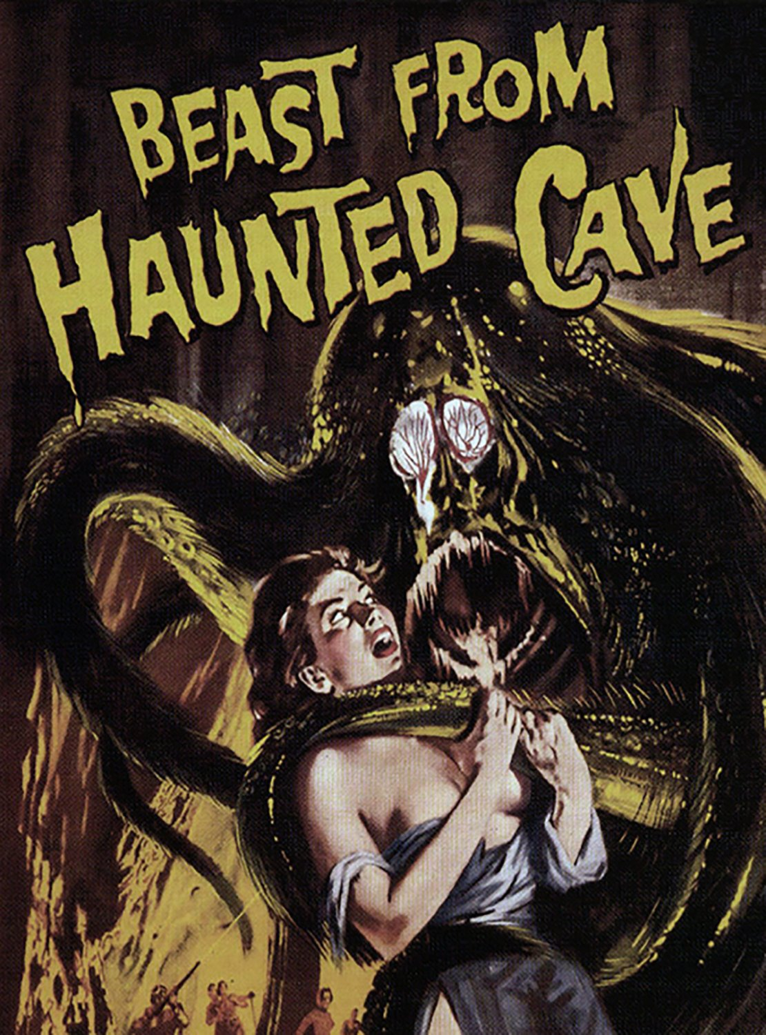 Beast From Haunted Cave (DVD)
