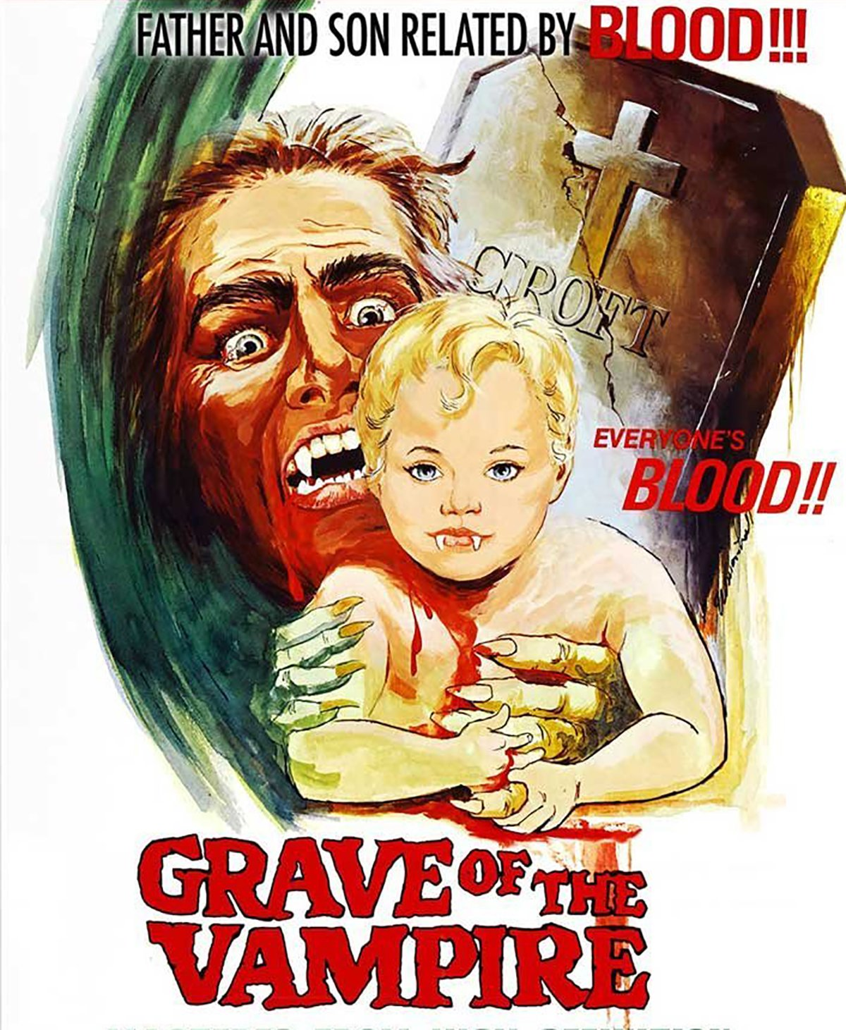 Grave of the Vampire (DVD)