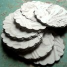 2 inch assorted scalloped rounds - Old World