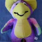 King Plush Purple Parrot Sombrero Stuffed Plush 13""